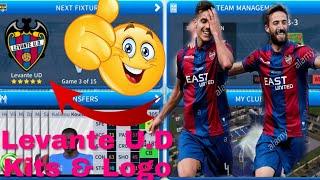How To Create Levante U.D Team Kits & Logo | Dream League Soccer 2019