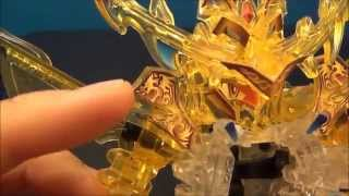 B-Daman Cross Fight Unboxing & Review - CB-45 SMASH=DRAGOLD FIGHTING SET
