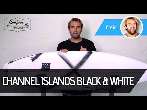 Channel Islands Surfboards Black & White Surfboard Review | Compare Surfboards