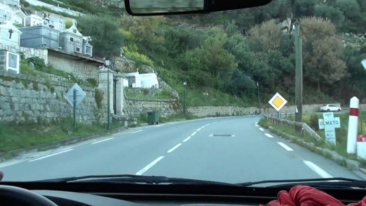 Corsica By Car Ajaccio Propriano Youtube