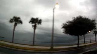 Tornado Over Edgewater Florida East Volusia County DeBary Deltona 12-10-2012