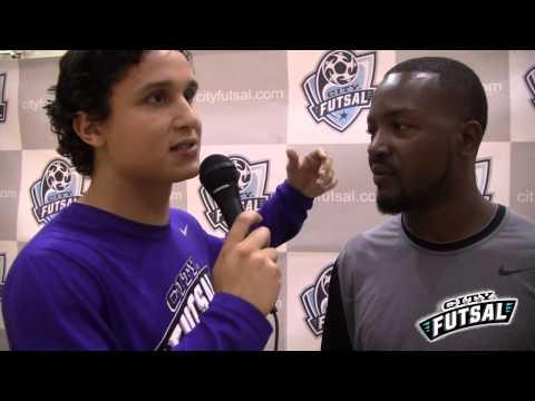 City Futsal-Stephen Phiri Interview