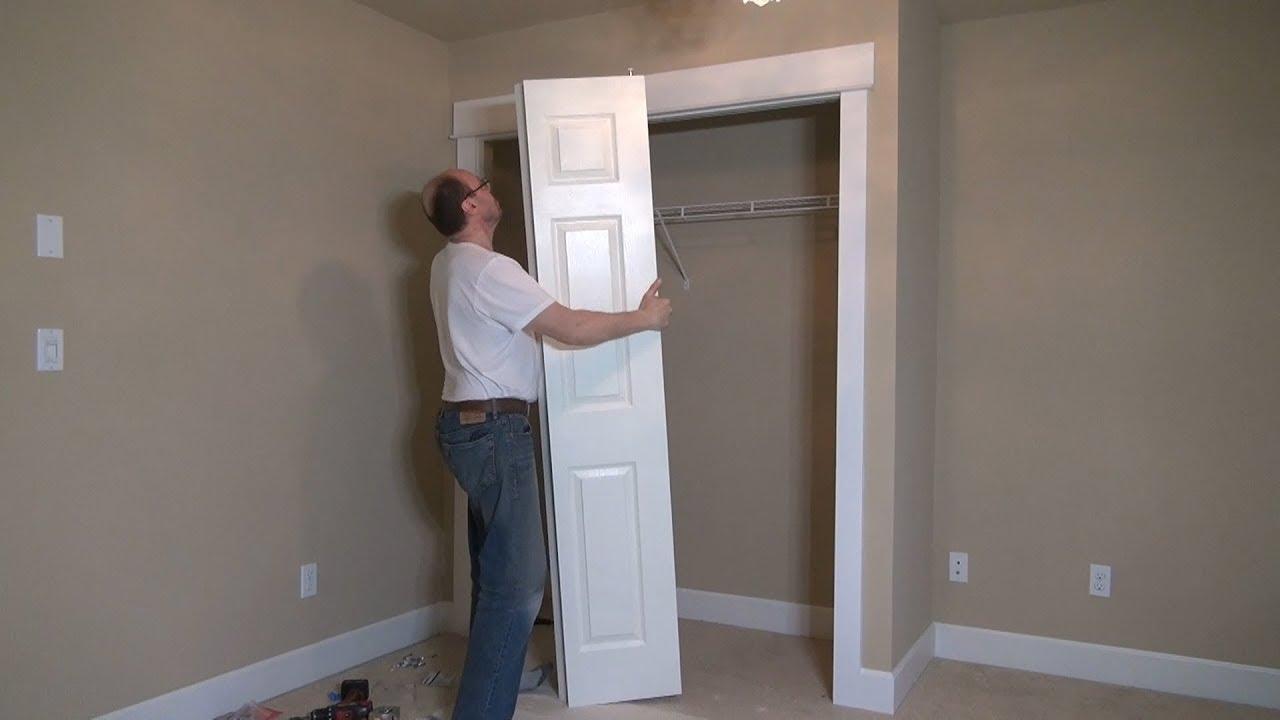 Download How to Build a Closet. Shelf and Bi-fold Doors. Part 5. Строим кладовку