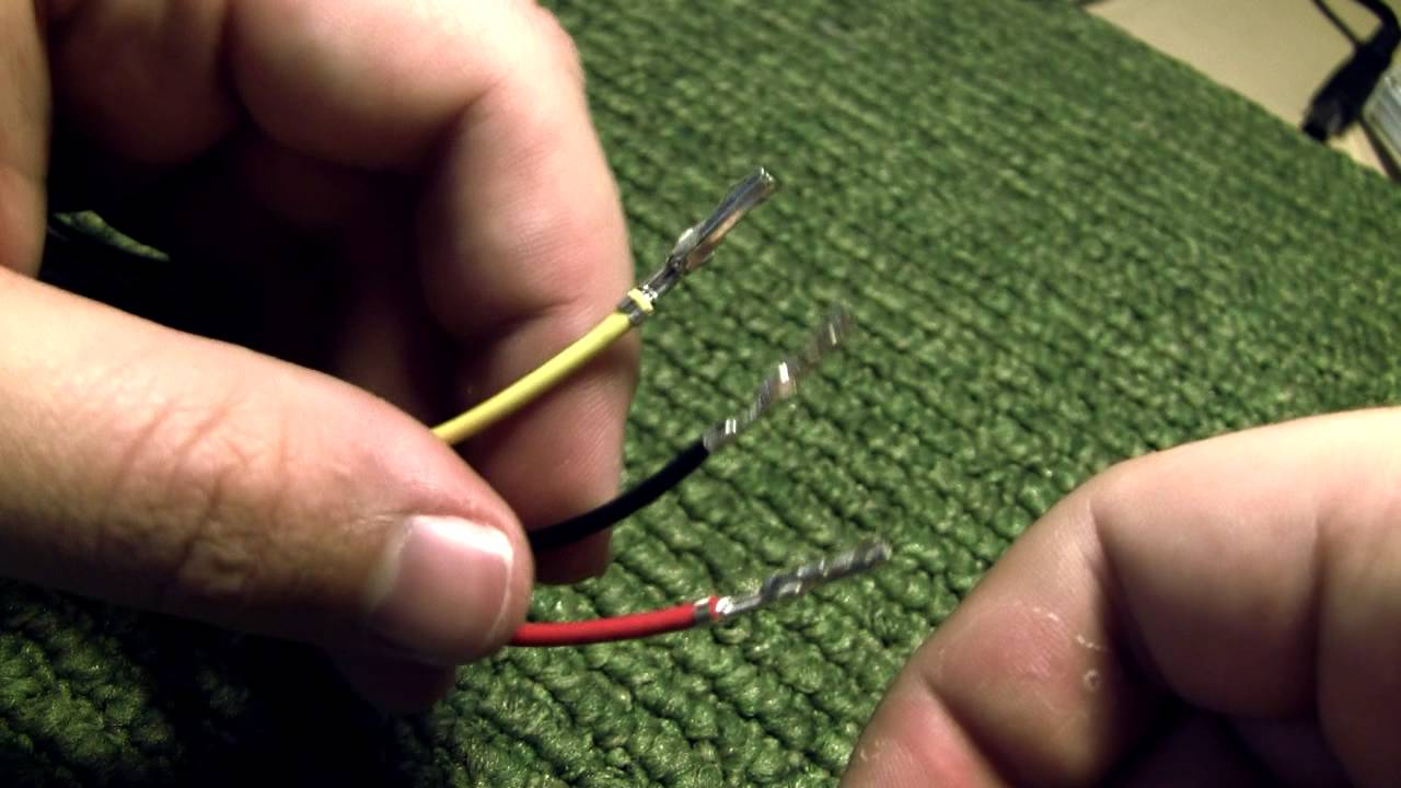 maxresdefault remove wires from molex connector youtube remove wire from harness at crackthecode.co