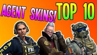 CS:GO - Top 10 Agęnt Skins! (BEST CSGO CHARACTER SKINS!)