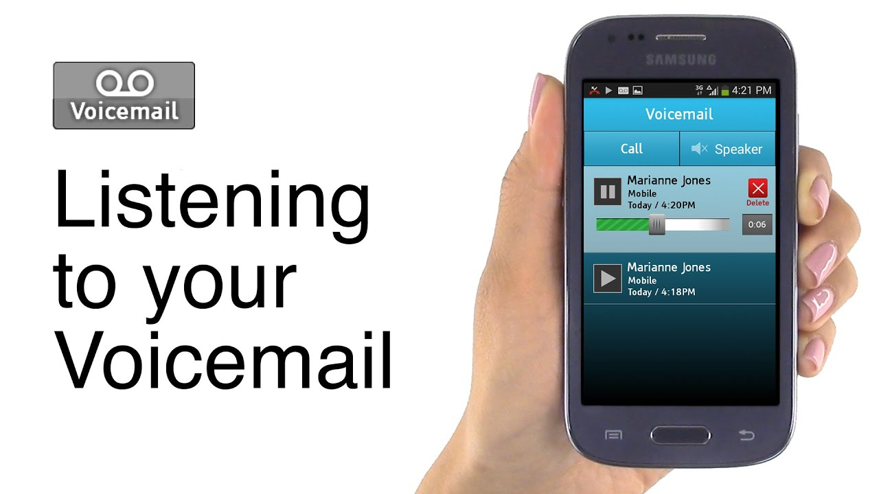 How To Setup And Check Your Voicemail On Jitterbug Touch Youtube