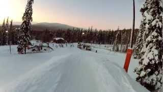 Горнолыжка - Финляндия, Леви. Январь 2013