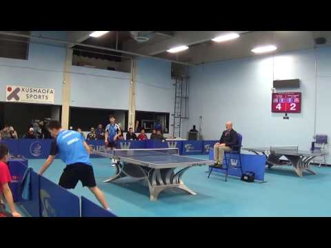 Westchester Table Tennis Center January 2017 Open Singles Final