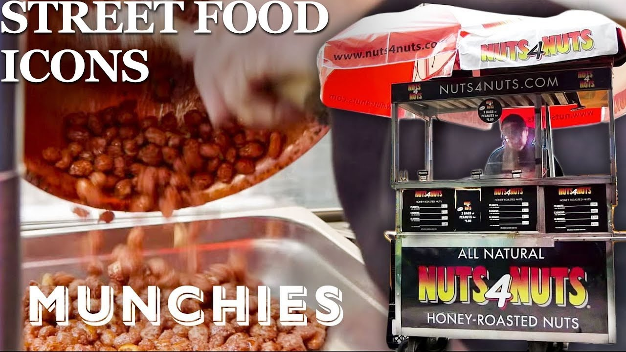 The Famous Roasted Nut Carts of New York City - Street Food Icons