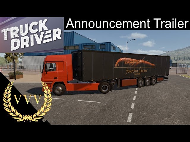 Truck Driver Trailer PS4 and Xbox