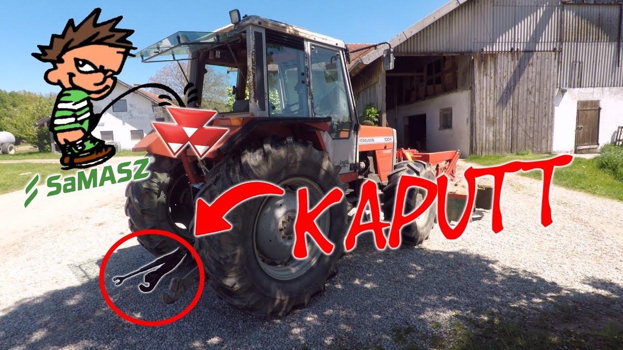 Berühmt Neues Mähwerk: Traktor kaputt | agrarheute.com @PT_47