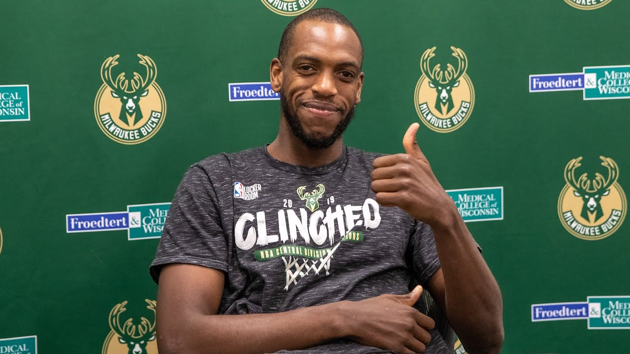 """""""It Feels Great To Be Back."""" Khris Middleton Press Conference   7.3.20"""