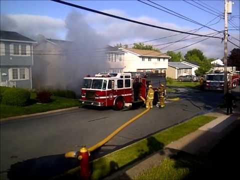 FIRE IN DUPLEX-Cole Harbor, Nova Scotia, June 2012