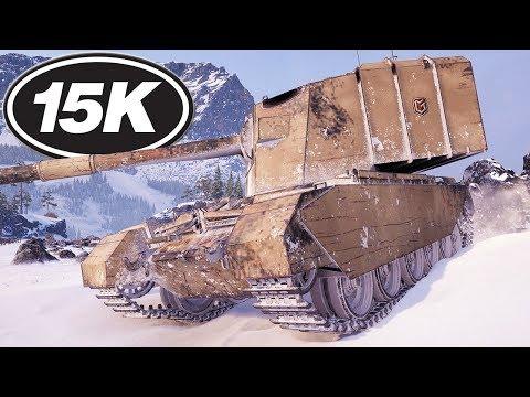 FV4005 Stage II - DAMAGE RECORD - World of Tanks Gameplay thumbnail