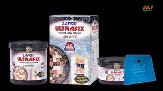 Lapox Ultrafix – Epoxy adhesive for vertical marble cladding and underwater application.
