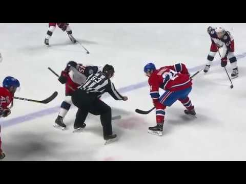 Columbus Blue Jackets vs Montreal Canadiens 1-3 Highlights