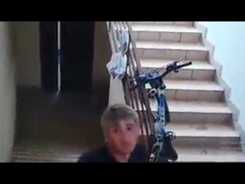 Наглая кража велосипеда