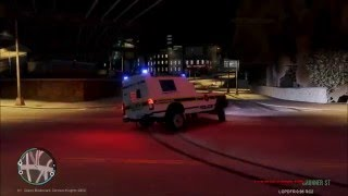 South African police patrol GTA IV