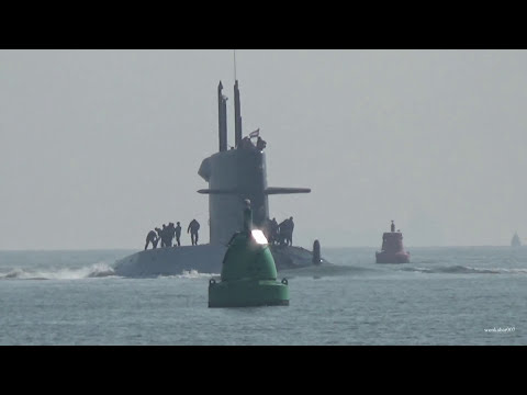 Dutch Submarine, HNLMS Walrus at Portsmouth England.