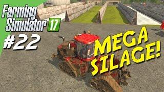 MEGA SILAGE! - Farming Simulator 2017 dansk Ep 22