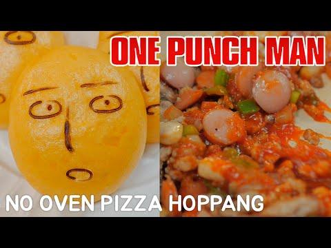 NO OVEN) 원펀맨 피자호빵 One-Punch Man Pizza hoppang 「ワンパンマン」 ピザホ ...
