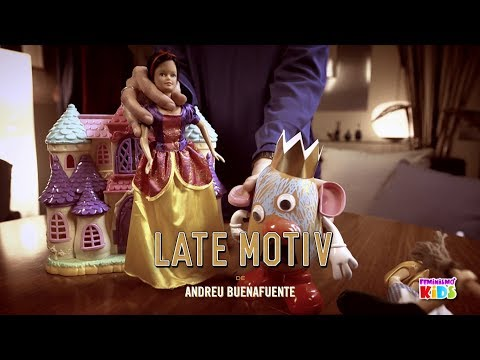 LATE MOTIV - En casa de Silvia y Andreu. 'Feminismo kids'   #LateMotiv358