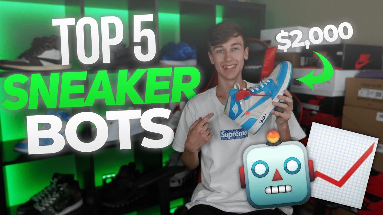 (Updated) Top 5 Sneakers Bots of 2020!! (Best Sneaker Bots to ACTUALLY Cop)