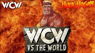 WCW vs The World PSX Playthrough - WCW Title with HULK HOGAN