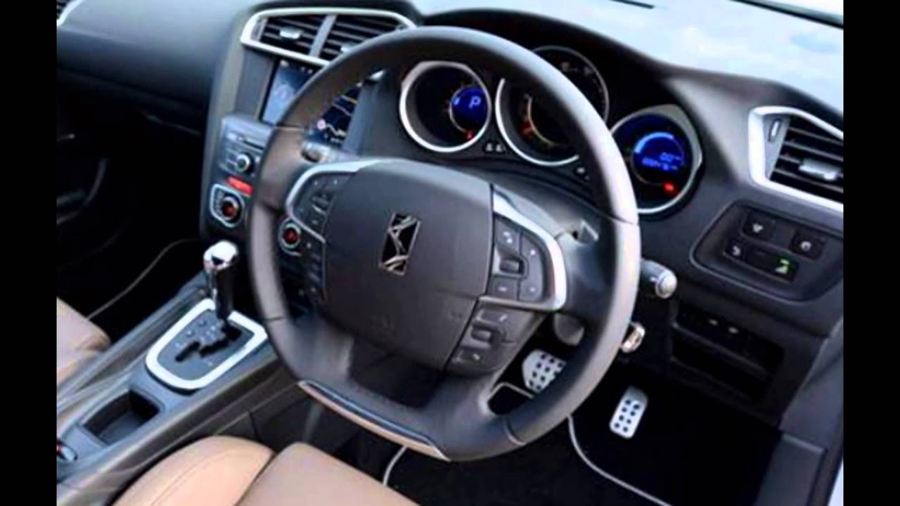 2016 citroen ds4 interior youtube