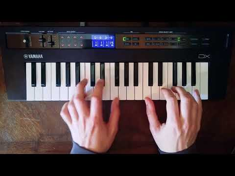 Beth/Rest by Bon Iver on the Yamaha Reface DX