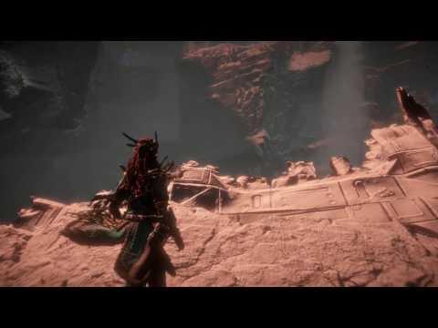 Horizon Zero Dawn The Mountain that Fell - How to get to the Ruins of GAIA Prime