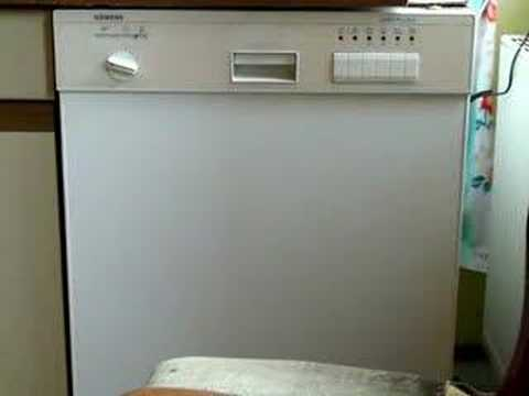 siemens lady plus e dishwasher part 2 3 youtube. Black Bedroom Furniture Sets. Home Design Ideas