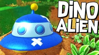 DINOSAUR ALIENS CRASH LANDING! - Let