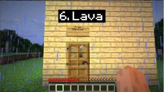 1000 ways to die in Minecraft. Ep1-Basic Redstone