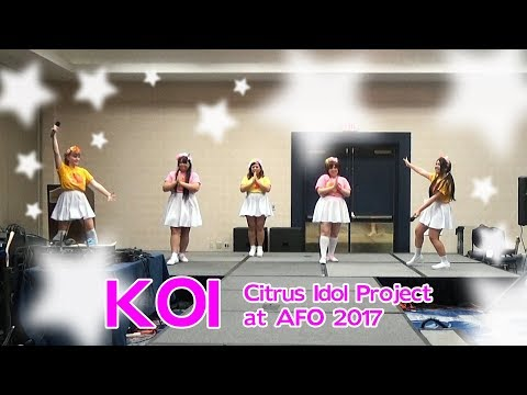 【CITRUS】Gen Hoshino - Koi【Live Song Cover】Anime Festival Orlando 2017
