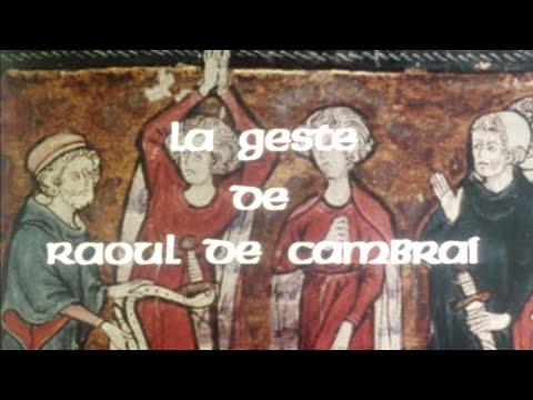 POÉSIE MÉDIÉVALE – La geste de Raoul de Cambrai (Adaptation filmée, 1978)