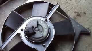 Замена вентилятора радиатора opel vectra