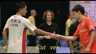 オランダオープン 決勝 桃田賢斗 vs 五十嵐優 kento momota vs yu igarashi