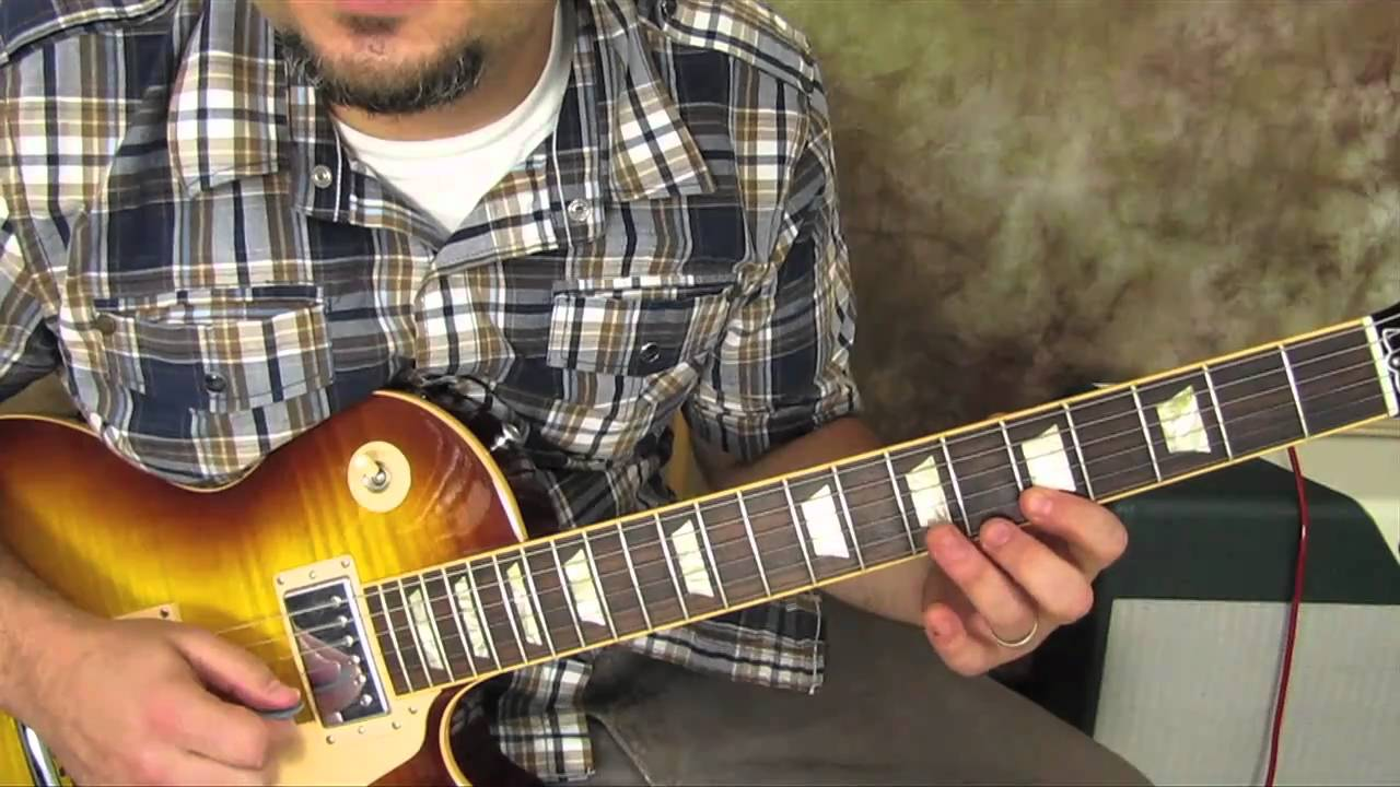 blues rhythm guitar lesson gibson les paul free guitar lessons online how to play youtube. Black Bedroom Furniture Sets. Home Design Ideas