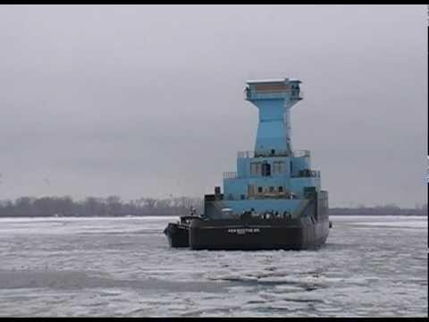 Erie Shipping News - Tug KEN BOOTHE SR. Float Launch