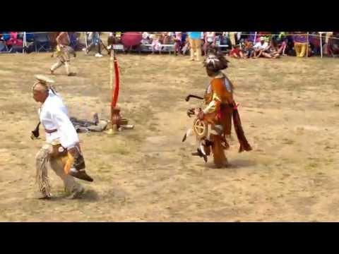 Mashpee Wampanoag Tribe powwow 2016 Golden Age Men