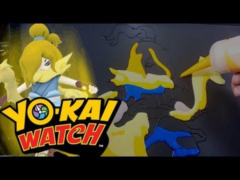 Pancake Art - Illuminoct / Hikari Watch (Yokai Watch)