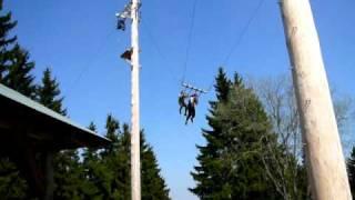 Andy a David Obří houpačka Plešivec-16 metrů