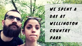 Coffee drama and rain appearance at Wellington Country Park - Reading, Berkshire - DailyPinner vlog