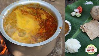 विदर्भातील पंगतीतील चवीची डाळभाजी | Vidarbha Special Palak Dalbhaji | Dhiraj Kitchen मराठी