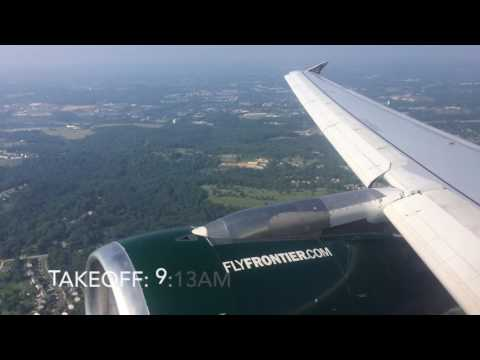 Frontier Airlines A319 Trip Report