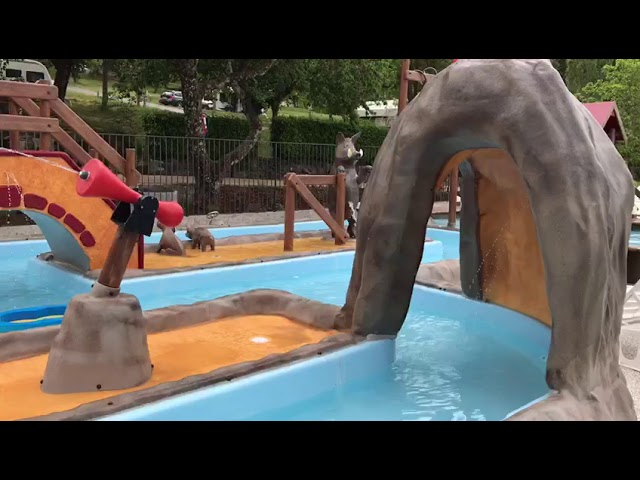 Waterspeelparadijs geopend! / Le bassin aqualudique est ouvert!