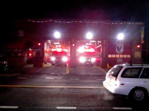 FDNY FSD Engine 71 Spare and Ladder 55 Responds While Division 6 Returns