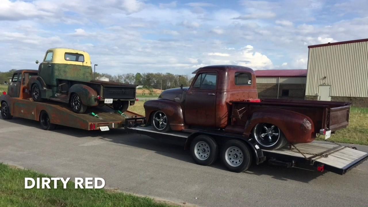Genoe's 1949 Chevrolet COE 6.6 duramax hauler - YouTube