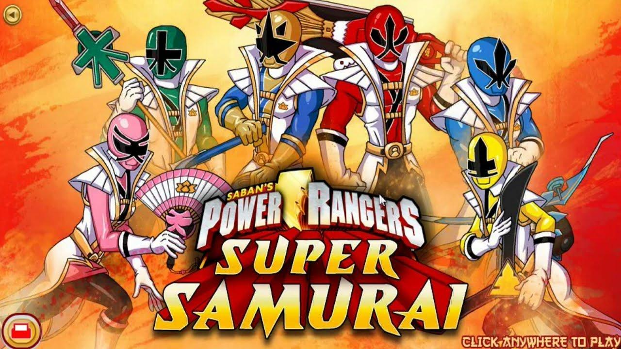 Power Rangers Super Samurai Nickelodeon Games Antonio ...
